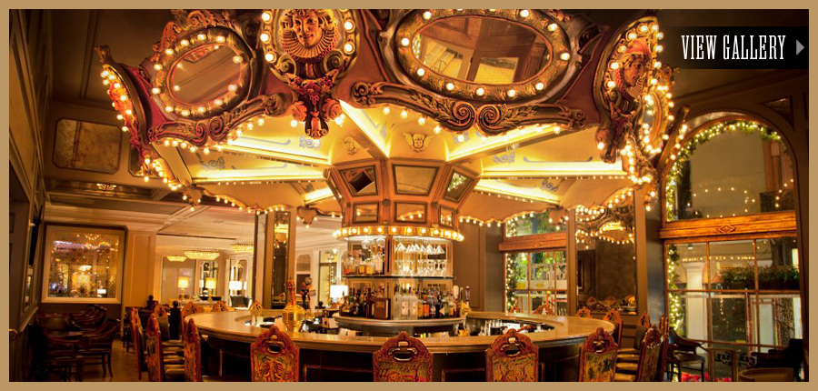 Carousel bar criollo nola hotel monteleone new for Food bar new orleans