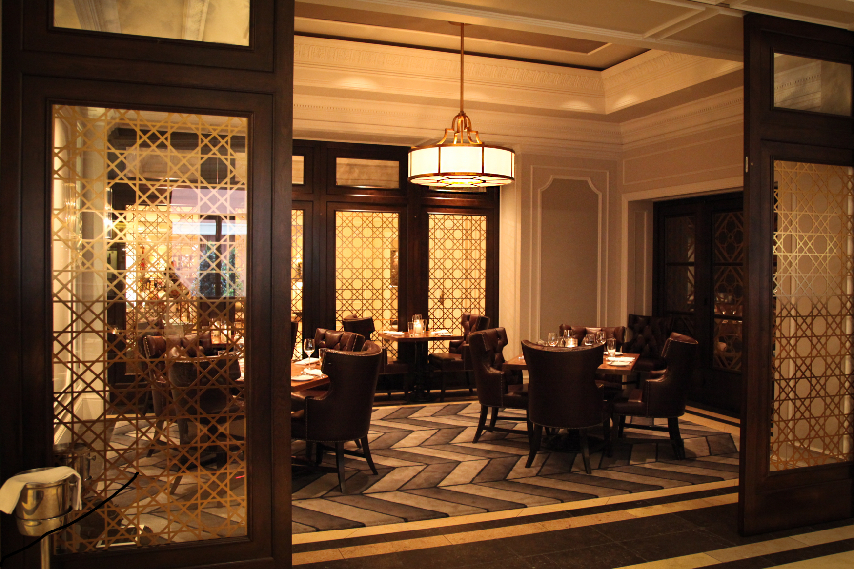 Delightful Private Dining. Hotel Monteleone Tennessee Williams Room